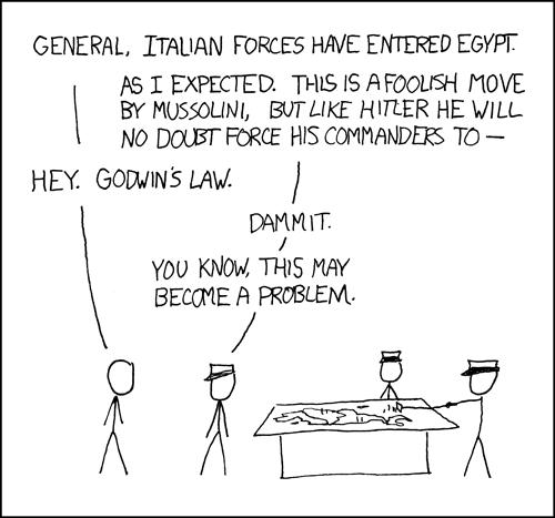 xkcd - Godwin's Law