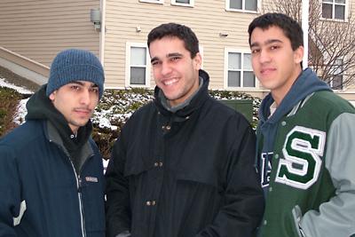 Eric, Dan, and David